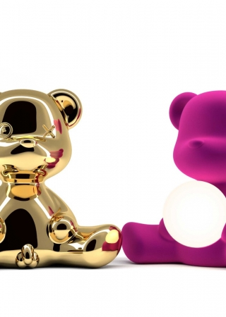 qeeboo teddy girl lamp by stefano giovannoni