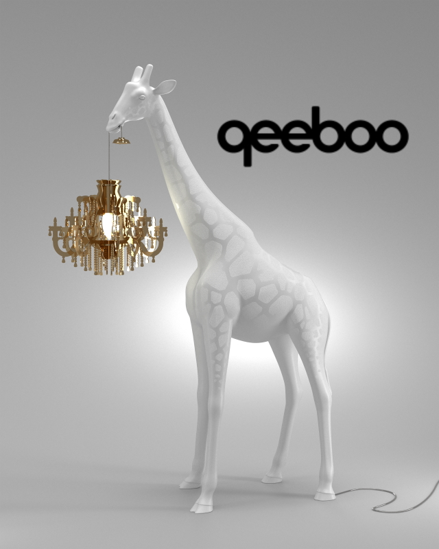qeeboo - new brand Giraffe in love